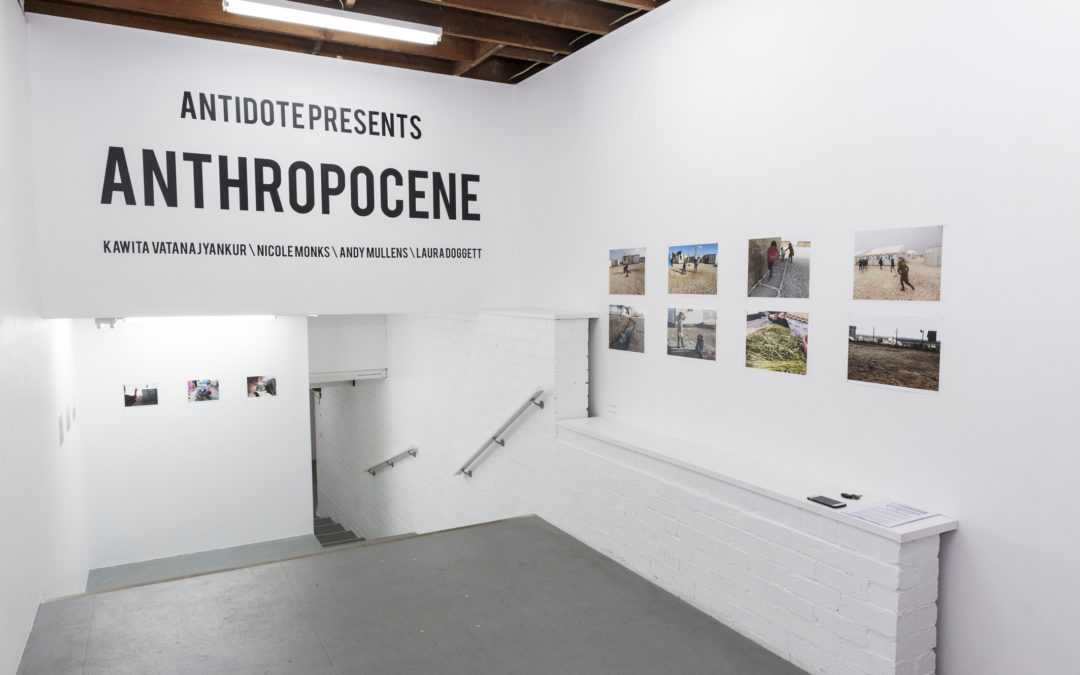 CURATORIAL STATEMENT ON ANTHROPOCENE